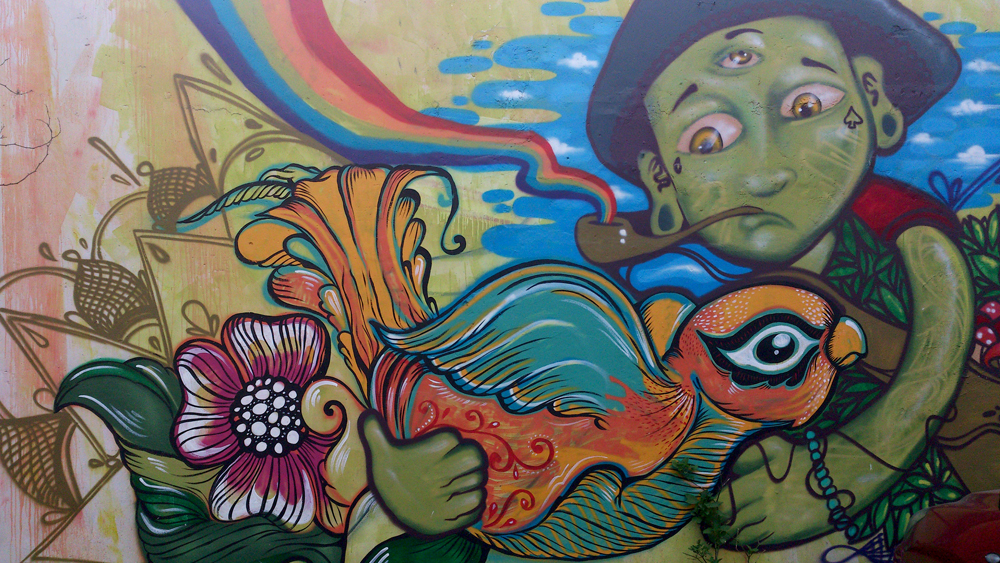 Grafitti in Lima